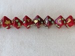 Red-Gold Hex ($6.00 Per Bead)