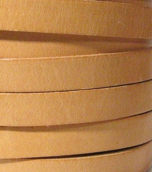 10mm Flat Leather-Natural ($.50 an inch)