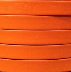 10mm Flat Leather-Orange ($.50 an inch)