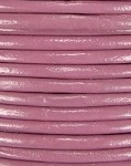 1mm Round Indian Leather-Dusty Pink ($2.00 Per Yard)