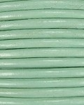 1mm Indian Round Leather-Mint ($2.00 Per Yard_