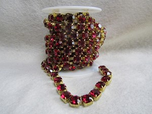 5mm Ruby/Raw Cup Chain ($1.00 Per Inch)