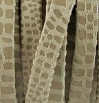 5mm Flat Leather-Cancun-Beige ($.25 an inch)