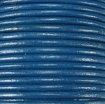 1.5mm Round Indian Leather-Dark Blue ($2.00 per yard)