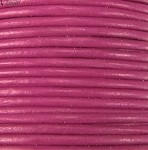 1.5mm Round Indian Leather-Fushsia ($2.00 per yard)