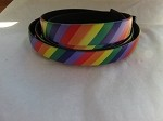 10mm Flat Leather-Rainbow Colors ($.50 an inch)