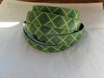 10mm Flat Leather-Diamond Green ($.50 an inch)