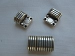 Striped Magnetic Clasp