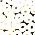 Spacer Bead - Ivory ($1.00/bead)
