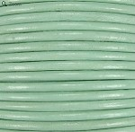 1.5mm Round Indian Leather-Mint Green ($2.00 per yard)