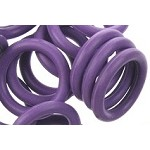 12mm Rubber O-Ring-Amethyst ($.20 each)