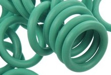 12mm Rubber O-Ring-Aqua ($.20 each)