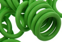 12mm Rubber O-Ring-Bright Green ($.20 each)