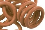 12mm Rubber O-Ring-Caramel ($.20 each)