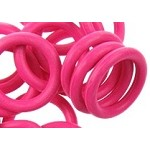 12mm Rubber O-Ring-Flamingo ($.20 each)