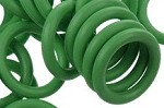 12mm Rubber O-Ring-Grass Green ($.20 each)