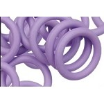 12mm Rubber O-Ring-Heather ($.20 each)