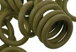 12mm Rubber O-Ring-Khaki ($.20 each)