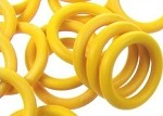 12mm Rubber O-Ring-Lemon ($.20 each)