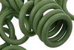 12mm Rubber O-Ring-Moss Green ($.20 each)
