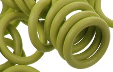 12mm Rubber O-Ring-Olive ($.20 each)