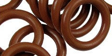 12mm Rubber O-Ring-Tobacco ($.20 each)