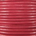 1.5mm Round Indian Leather-Pink ($2.00 per yard)