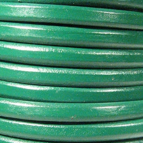 Regaliz Leather Kelly Green($1.00per inch)