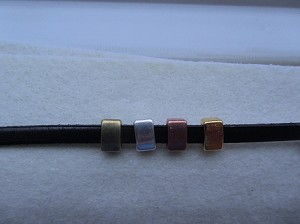 5mm Flat Slider-Plain Bar ($1.40 Each)