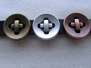 10mm Flat Slider-Button ($6.00 Each)