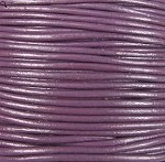 1.5mm Round Indian Leather-Violet ($2.00 per yard)